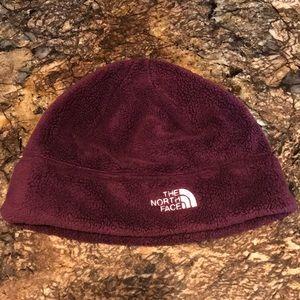 The North Face Purple Fleece Beanie